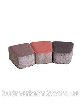 Тротуарная плитка Гамма (цветная) Люкс 6 см