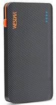 Внешнее зарядное устройство Power Bank Wesdar S15 8000mAh Black, фото 2