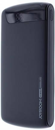 Портативний зарядний пристрій Power Bank Joyroom D-M153 20000mAh Black, фото 2