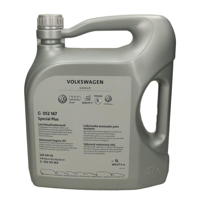 Масло моторное VAG 5W-40 G052505M4 5л.