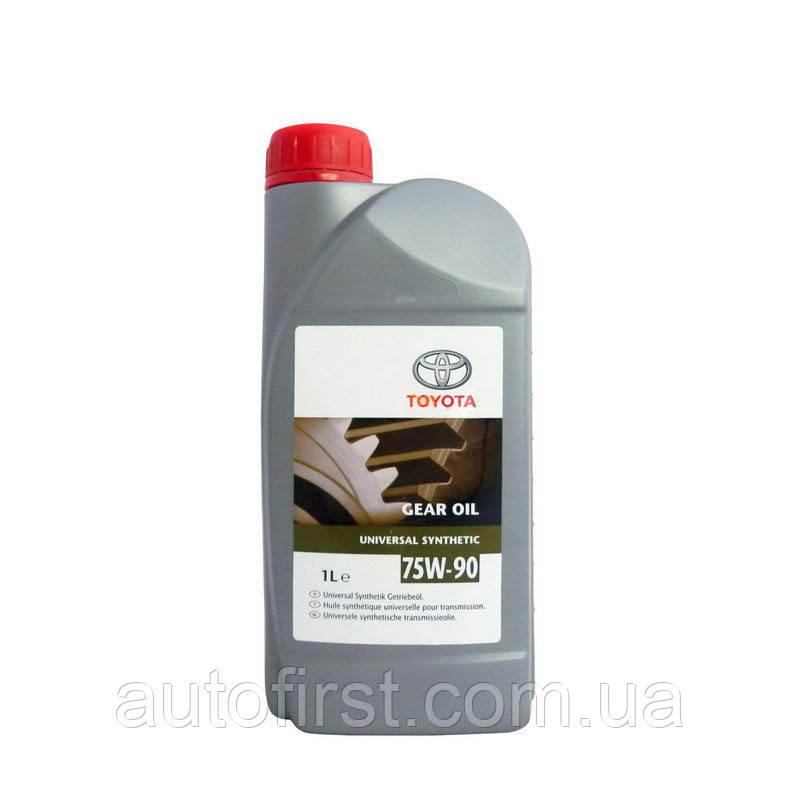 TOYOTA Масло 75W90 Gear Oil (1L)