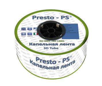 Щелевая капельная лента Presto-PS Blue Line 30см, 7mill (бухта 1000 м) 2,7 л/час