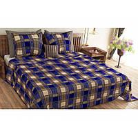 Молдавское полуторное постельное белье Бязь Tirotex - Квадраты 149b2aa818b66