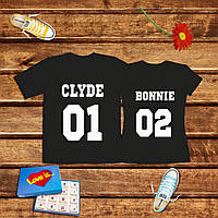 Парные футболки BONNIE+CLYDY АФ55