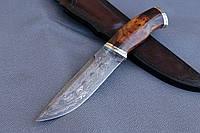 """Нож ручной работы из дамасской стали """"Прометей"""""""