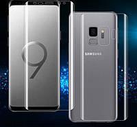 Защитные пленки (на обе стороны) для Samsung Galaxy S9 Plus
