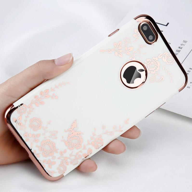 Чехол с цветамиIphone 6/6S