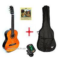 Гитара классическая ALFA AC 21-39 + чехол + тюнер + комплект струн