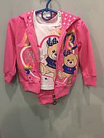 Спортивный костюм тройка для девочки 12 мес