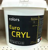 """COLORS Euro Cryl, фасадная штукатурка """"барашек"""". Зерно:1.5мм, 25кг"""