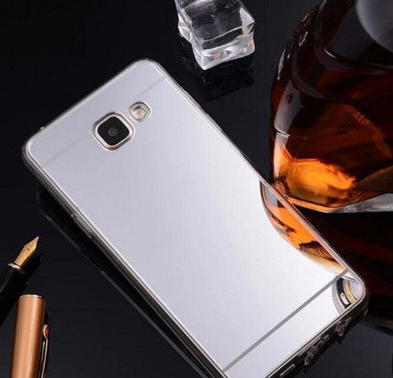 Зеркальный силиконовый чехол для Samsung Galaxy A3/A310(2016)
