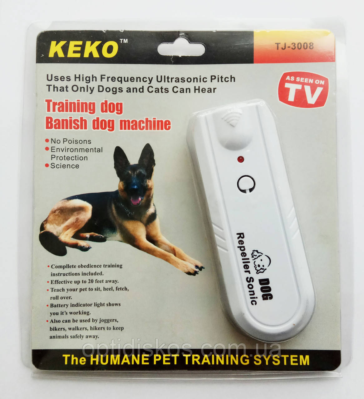 Ультразвуковой Отпугиватель собак Keko TJ-3008Нет в наличии