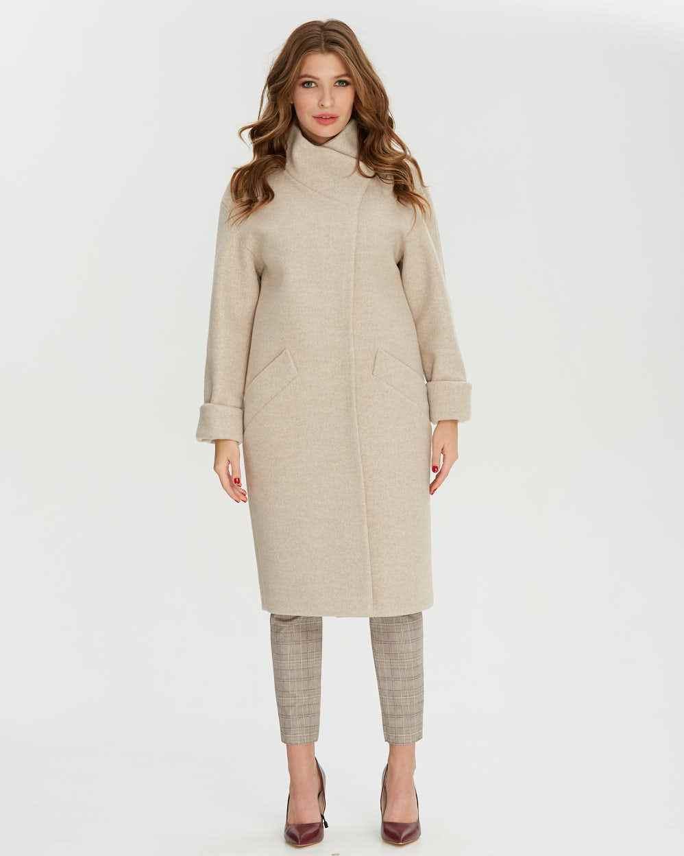 Пальто женское демисезонное  1250-1, 42-52