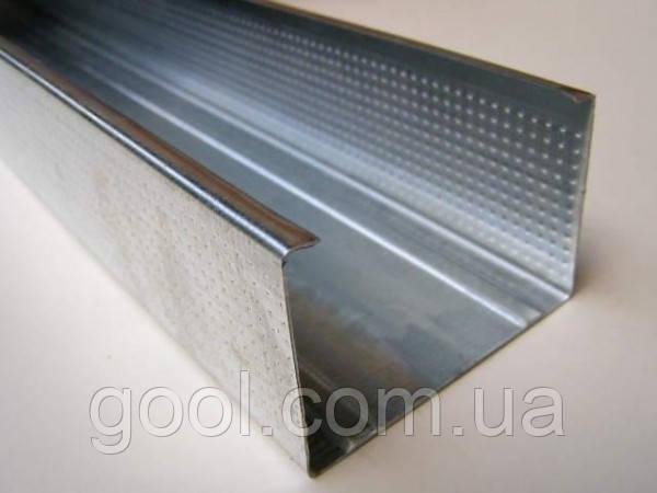 Профиль CD 60/27/3 м.п. оцинкованный для гипсокартона толщина металла 0,45 мм.