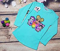 Туничка LOL (с фонариками) для девочки 2-7 лет (опт) пр.Турция, фото 1