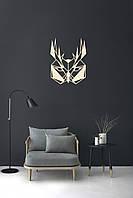 "Декоративная деревянная табличка на стену  ""Owl"""