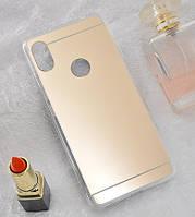 Зеркальный силиконовый чехол для Xiaomi Redmi S2, фото 1