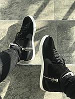 Мужские кеды Nike Blazer Mid Black, фото 1