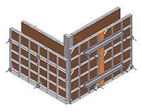 Опалубка для бетонных работ от производителя.