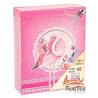 """Фотоальбом """"Величественный фламинго 1"""", 40 фото 10*15"""