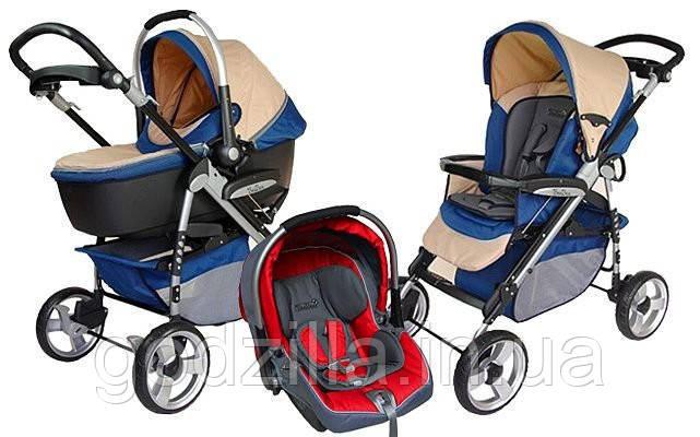 Прогулочная детская коляска LEKKI TERRANO