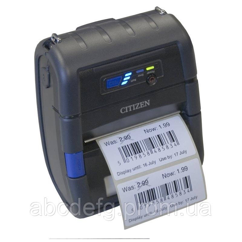 Мобильный принтер чеков-этикеток Citizen CMP-30II (USB, Serial, Bluetooth)