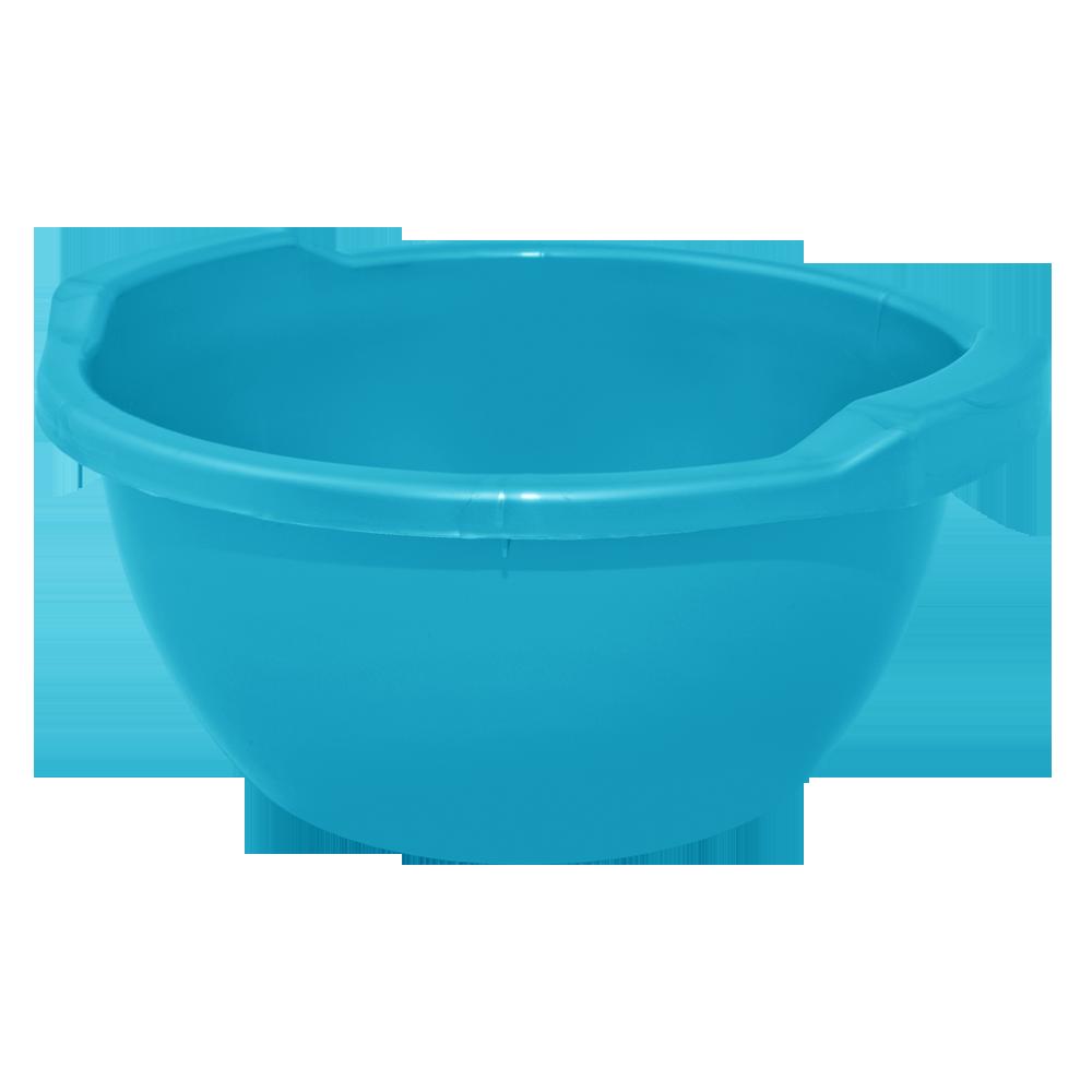 Таз круглий пластмасовий (п/е), 44 л, 11 кольорів, Алеана