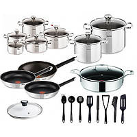 Набор посуды TEFAL DUETTO OLIVER 28 шт