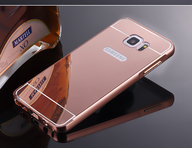 Алюминиевый чехол бампер для Samsung Galaxy Note 5