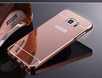 Алюминиевый чехол бампер для Samsung Galaxy Note 5, фото 1