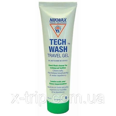Средства для ручной стирки в походных условиях Nikwax TechWash Gel Tube 100 ml