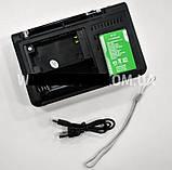 Радиоприемник Golon RX-1315 MP3 USB TF FM AUX + LED - радиоприемник с фонариком, фото 5