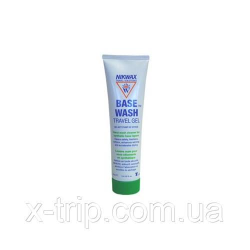 Средства для ручной стирки в походных условиях Nikwax Base Wash Gel Tube 100 ml