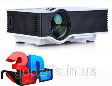 Проектор  LED 3D HDMI XBOX 800lm UC40!!