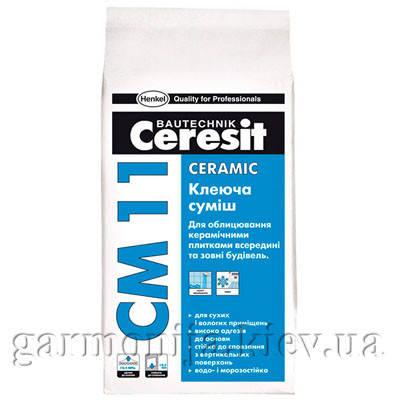 Клей для плитки Ceresit CM 11 Ceramic, 5 кг, фото 2