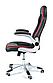 Вращающейся офисный стул кожаный, фото 3