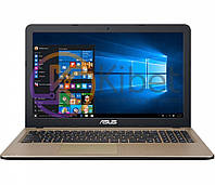 Ноутбук 15' Asus D540NA-GQ211T Black 15.6' матовый LED HD (1366x768), Intel Pentium N4200 1.1-2.5GHz, RAM 4Gb, HDD 500Gb, Intel HD Graphics 505,