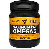 Maximum Pak Omega 3 Athlete Genetics (400 капс.)