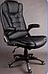 Офисный стул вращающийся Черный, фото 2