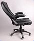 Офисный стул вращающийся Черный, фото 3