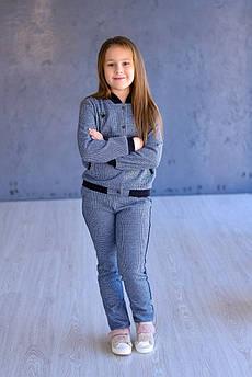 Бомбер детский Татьяна Филатова модель 189 серый