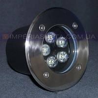 Светильник уличный вкапываемый, встраиваемый IMPERIA светодиодный LUX-503005