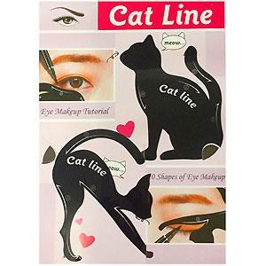 SA Макияж трафареты для подводки глаз Cat Line (2шт)