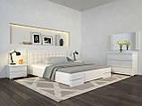 Кровать Arbordrev Регина Люкс без ПМ (120*190) сосна, фото 2