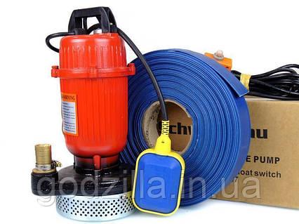 НАСОС QDX 25 для воды грязной септик