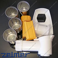 Насадка для шинковки к мясорубке Zelmer + насадка кубиками