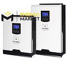Инвертор гибридный AXIOMA energy ISMPPT 5000 4 кВт (ИБП, MPPT контроллер 60А), фото 2