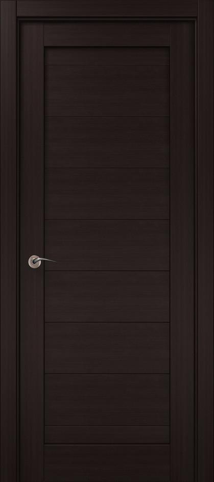 Межкомнатные двери Папа Карло ML-04 венге
