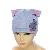 Детская шапка Зайка, фото 1