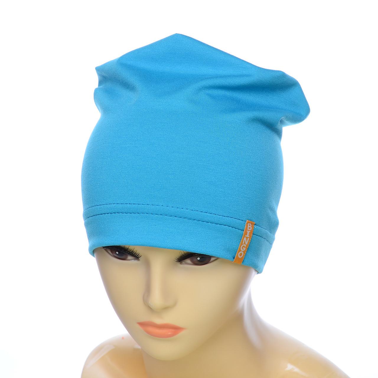 Легкая детская шапочка
